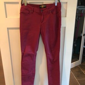 Lucky Brand Magenta Jeans
